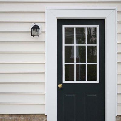 How to Trim a Composite Door