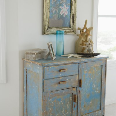 How to Antique Particle Board