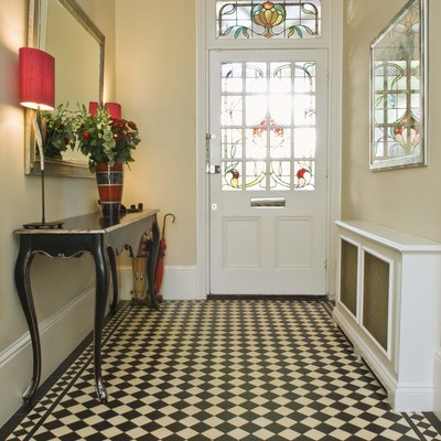 Foyer Table Entryway Decorating Ideas