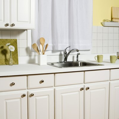 Can You Pull Laminate Off Cabinets & Paint the Pressed Wood?