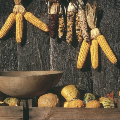 Making Thanksgiving Decorations With Corn-on-the-Cob