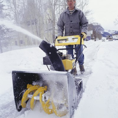 How to Adjust a Snowblower Chute Cable