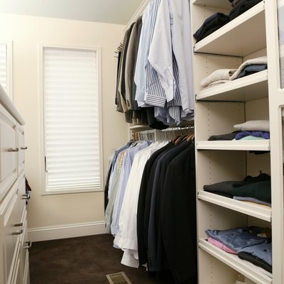 How to Install the Floor Brackets Over Carpeting on Sliding Closet Doors