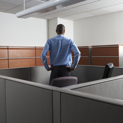 How to Disassemble an Office Cubicle