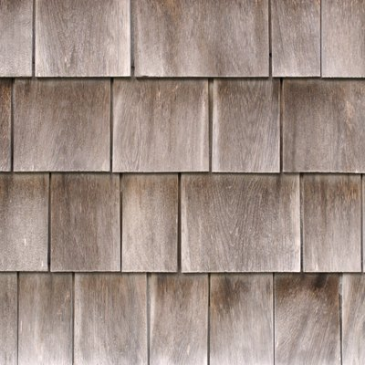 What Type of Paint or Stain to Use on Wooden Cedar Siding Shingles