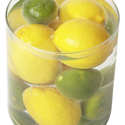 How to Keep Lemons at the Bottom of a Vase