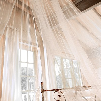 How to Make a Bed Canopy Without Drilling