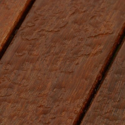Problems With Rain on a Newly Stained Deck