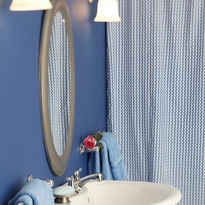 How to Hang Shower Curtains Without Using a Rod
