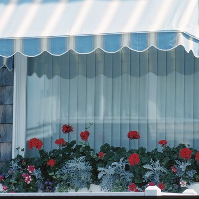 How to Make the Frame for a Canvas Window Awning