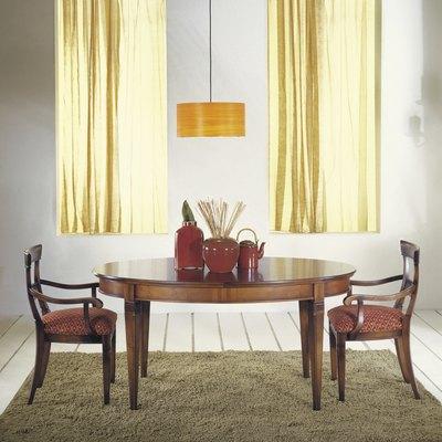 symmetrical dining room