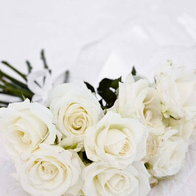 How to Keep White Roses From Turning Brown