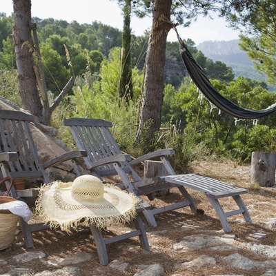 Rustic lounge chairs