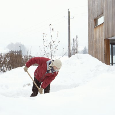 How to Melt a Large Pile of Snow