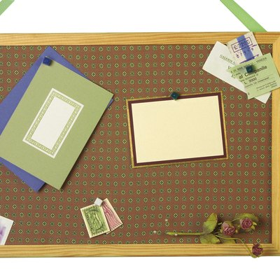 How to Hang a Bulletin Board Without Nails