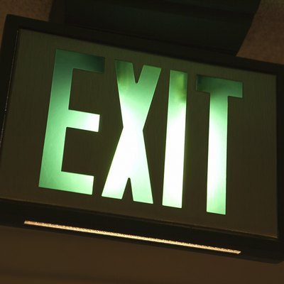 How to Replace an Exit Sign
