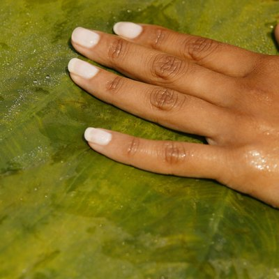How to Remove Dried Fingernail Polish From Polyester Material