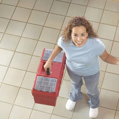 How to Use a Floor Leveling Compound Over Ceramic Tile
