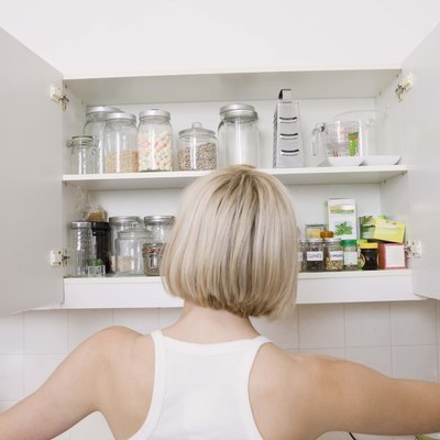 Can You Put Wallpaper on Melamine Cabinets?