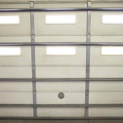 How to Lubricate an Overhead Garage Door
