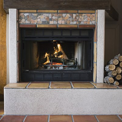 Do I Need to Put Anything on the Floor for a Gas Fireplace?