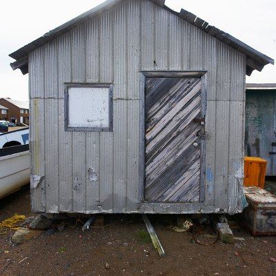Old Metal Shed Makeover Ideas