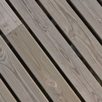 How to Get Rid of Burn Stains on a Deck
