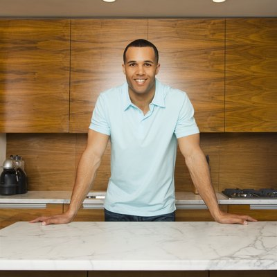 How to Do a Concrete Overlayment on Tile Countertops