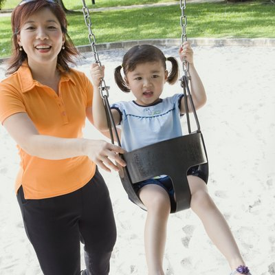 What to Put Under Swing Sets in the Yard