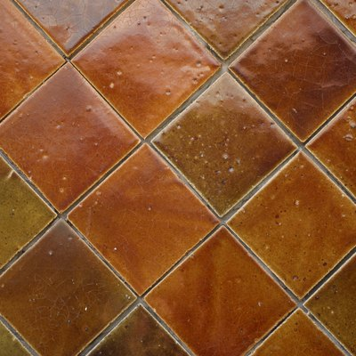 How to Rough Up Glazed Tile