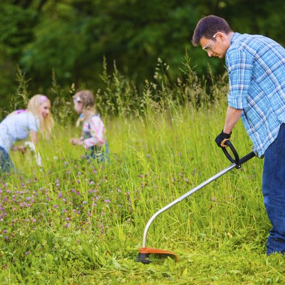 Gas-to-Oil Ratio for a Homelite Weed Trimmer