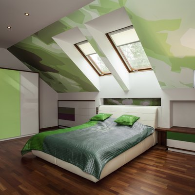 Bedroom Decorating Ideas With A-Frame Ceilings