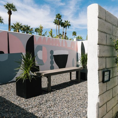 west elm palm springs house