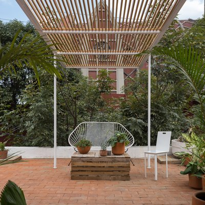 This Minimal Mexico City Apartment Opens to the Perfect Outdoor Space