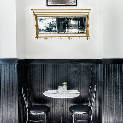 A Monochromatic Washington, D.C. Restaurant Makes Timeless Look Trendy