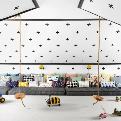 Here's a Playroom That's Making Us Wish We Were Still Kids