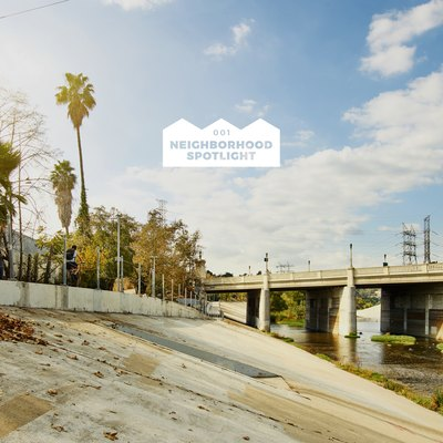 The L.A. River in Frogtown