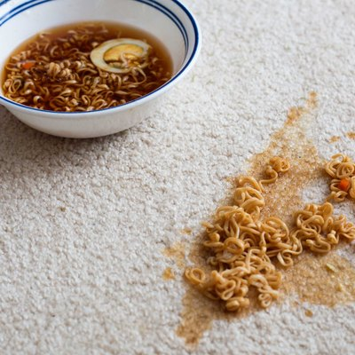 How to Get Ramen Out of Carpet
