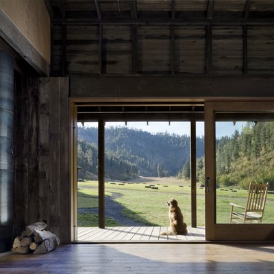 This Nearly Collapsed Barn Was Turned Into a Beyond-Cool Family Home