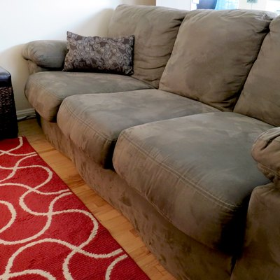 How to Clean a Microfiber Couch With Rubbing Alcohol or Other Solutions