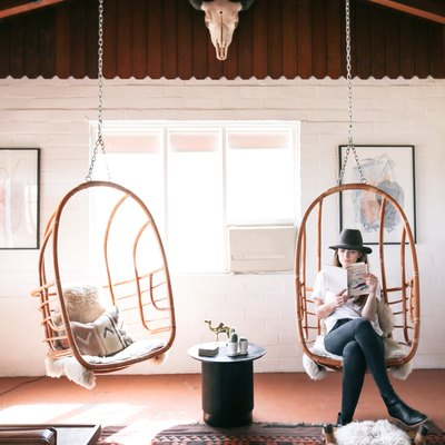 Book Your Next Desert Getaway in This Perfect Rustic-Meets-Bohemian Rental
