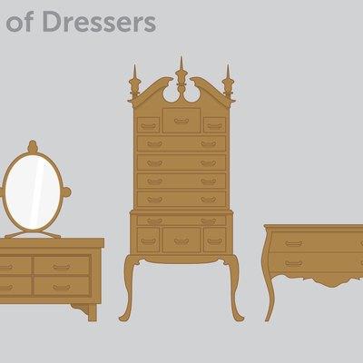 Luxurious dresser