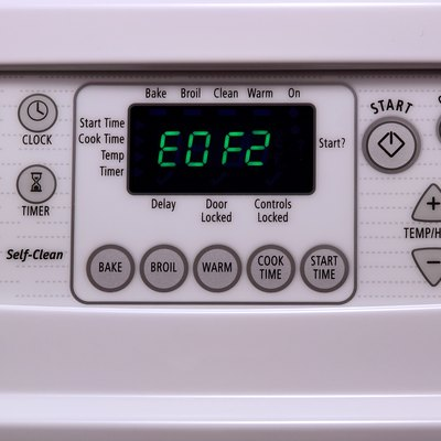 How to Fix the EO F2 Code on a Kenmore Stove