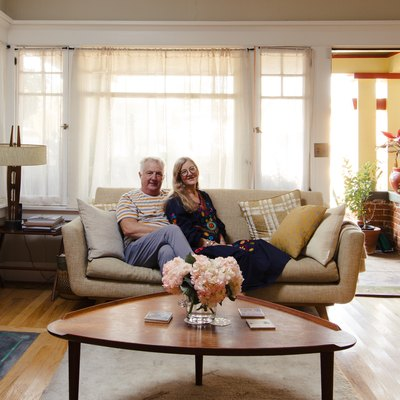 At Home With Jacqui and Bill in an Eclectic Craftsman Bungalow