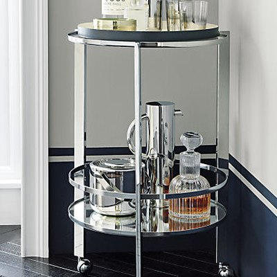 8 Bar Carts That'll Work in Even the Tiniest Studio Apartment