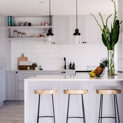 How to Make a Small Kitchen Island Work for You