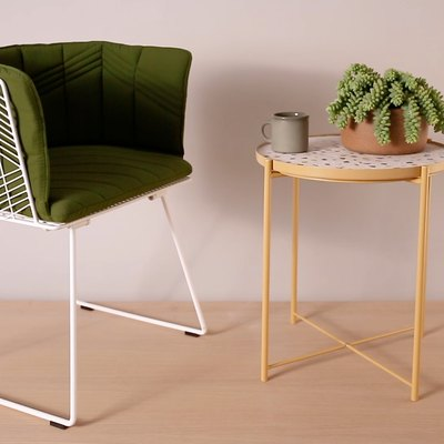 Create a Terrazzo Table With This Clever IKEA Hack