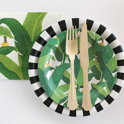 10 Totally Chic Paper Products for Your Next Outdoor Party