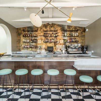 L.A.'s Felix Restaurant Gives the Feel of Grandma's House a Modern Setting