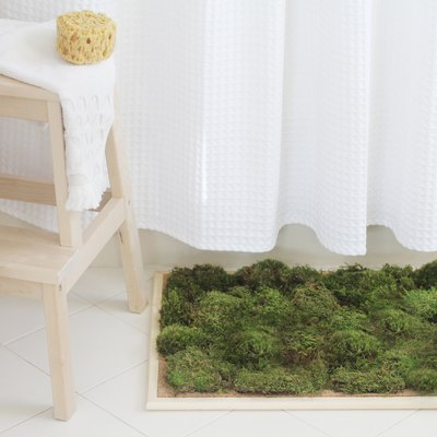 This DIY Moss Shower Mat Will Turn Your Bathroom Into a Spa-Inspired Sanctuary